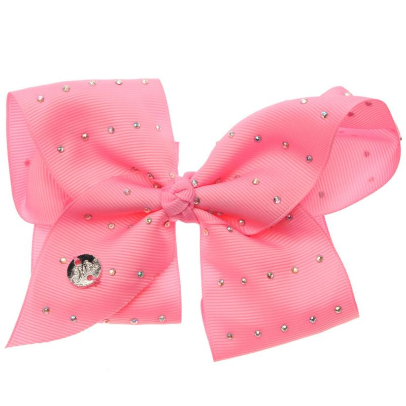 Miso MiMi Bow Junior Girls Pink Diamante