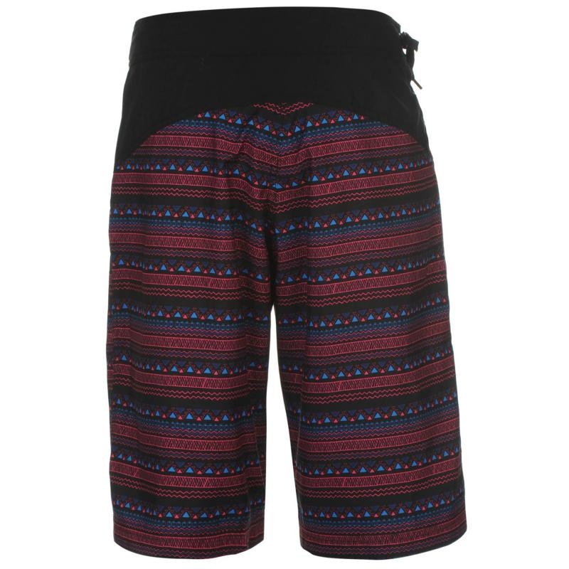 Hot Tuna Bahama Board Shorts Ladies Black Tribal