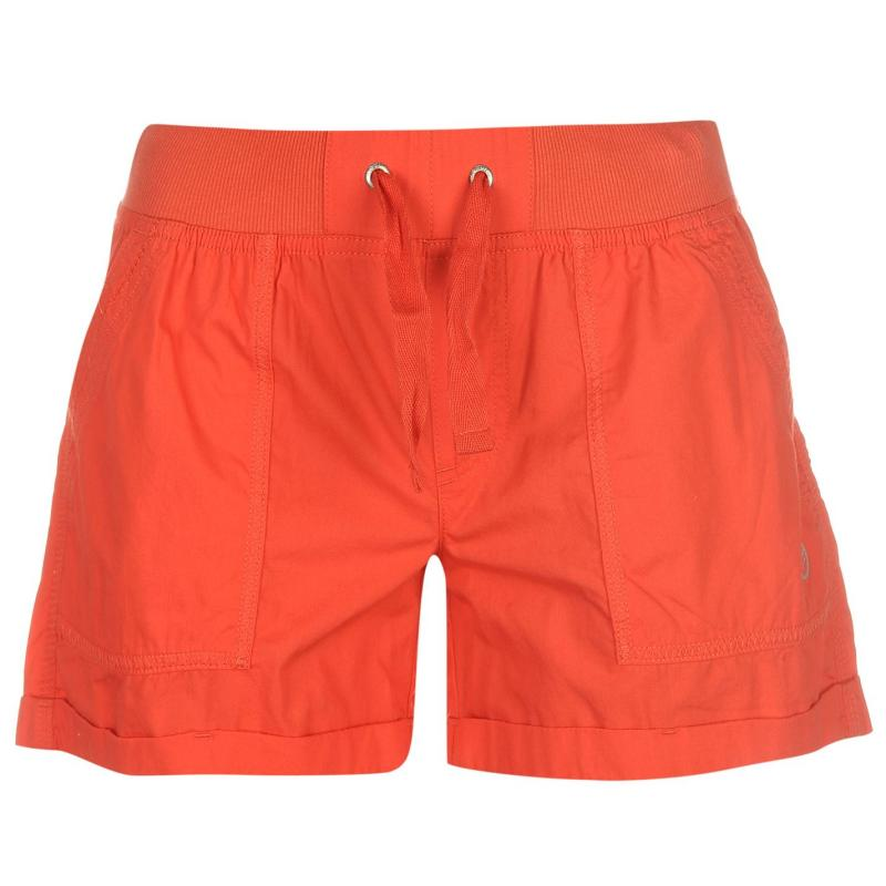 Hot Tuna Shorts Ladies Fiery Coral