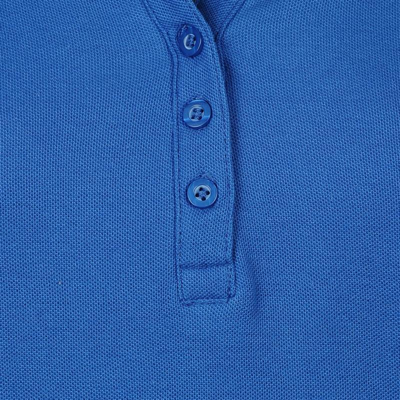 Polokošile Miso Plain Polo Shirt Ladies Blue 3e58b057953