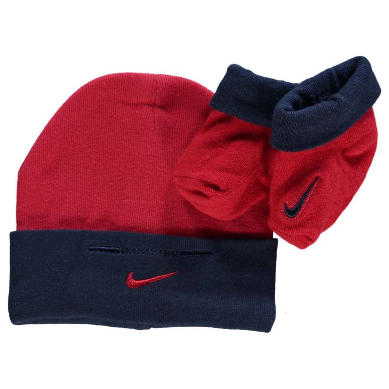 Nike Hat Bootie Set Baby Boys Game Royale