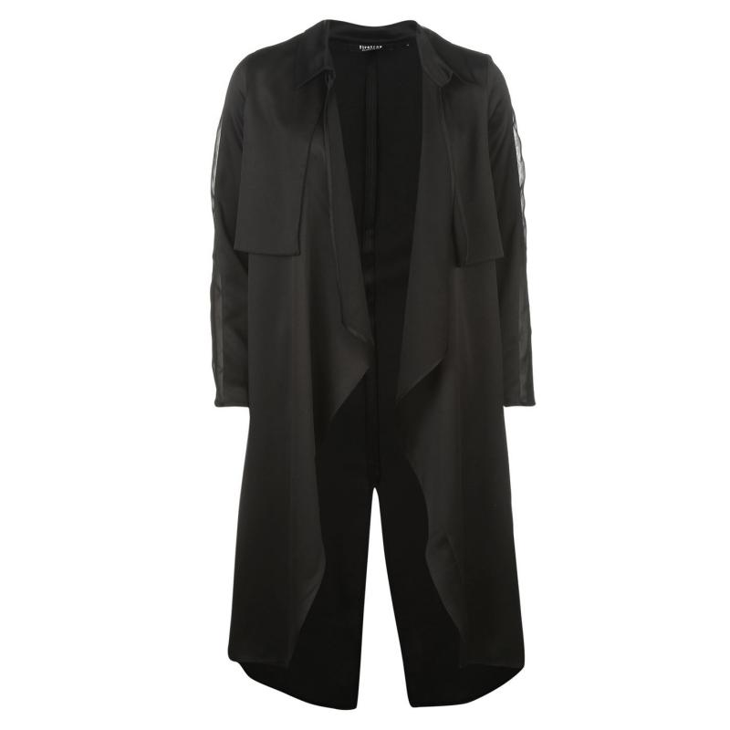 Firetrap Blackseal Trench Coat Blush