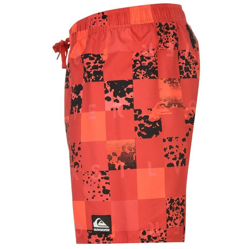 Quiksilver Chuka 17 Shorts Mens Red