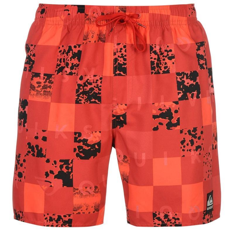 Plavky Quiksilver Chuka 17 Shorts Mens Red