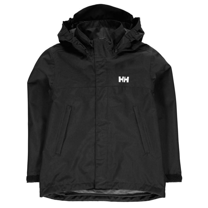 Bunda Helly Hansen Coastal Jacket Junior Boys Black