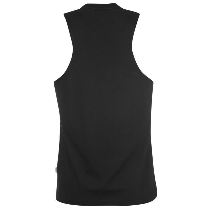 Tílko Lonsdale Muscle Vest Mens Black