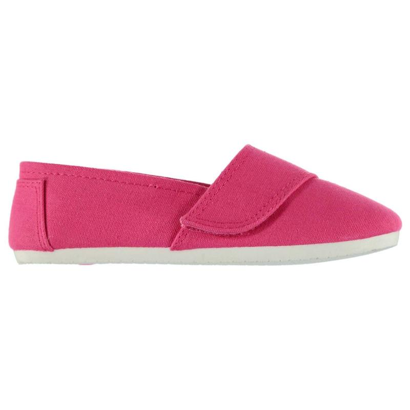 Miss Fiori Sams Child Girls Canvas Shoes Pink Print