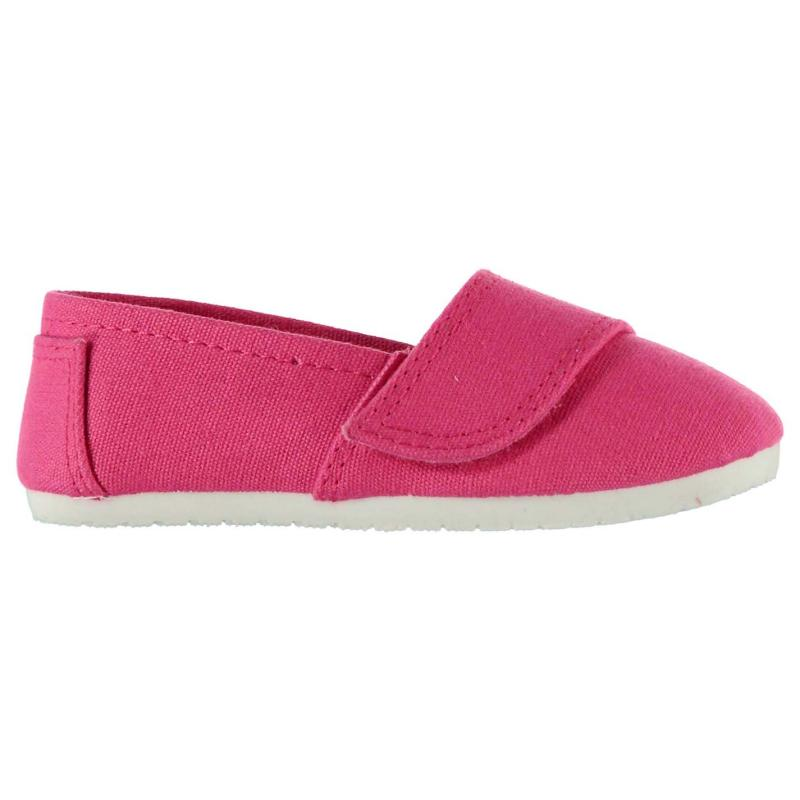 Miss Fiori Sams Infant Girls Canvas Shoes Red