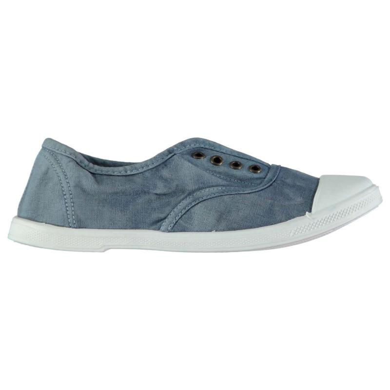 Obuv Beach Athletics Dolly Laceless Canvas Shoes Washed Charcoal