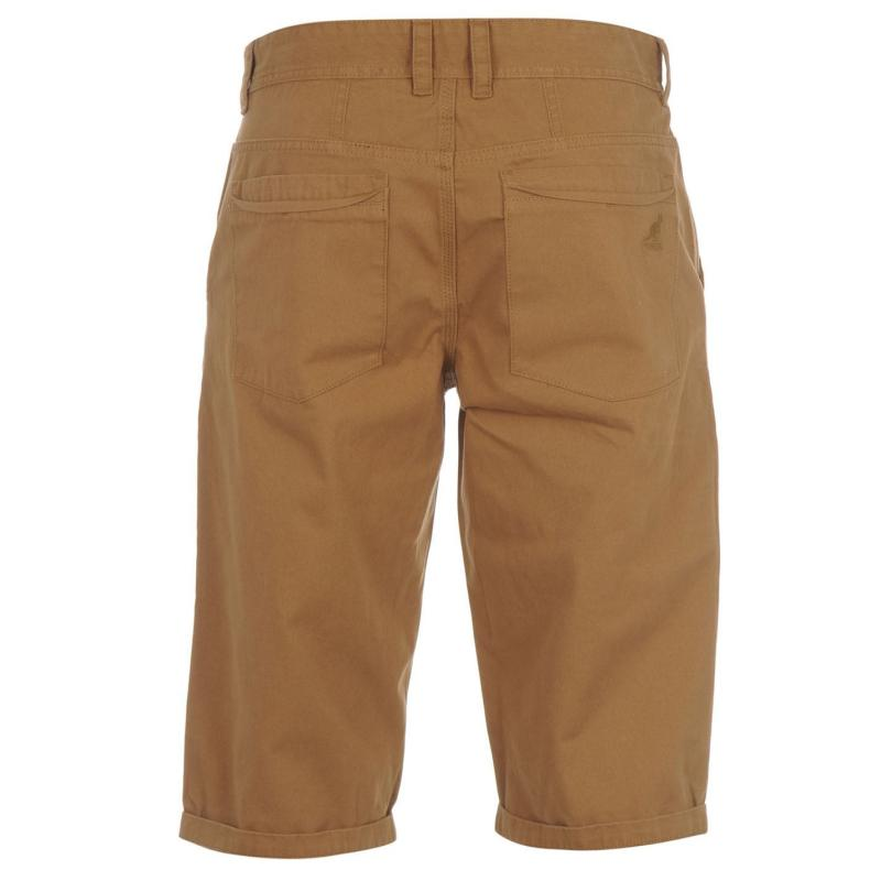 Kraťasy Kangol Chino Shorts Juniors Deep Green