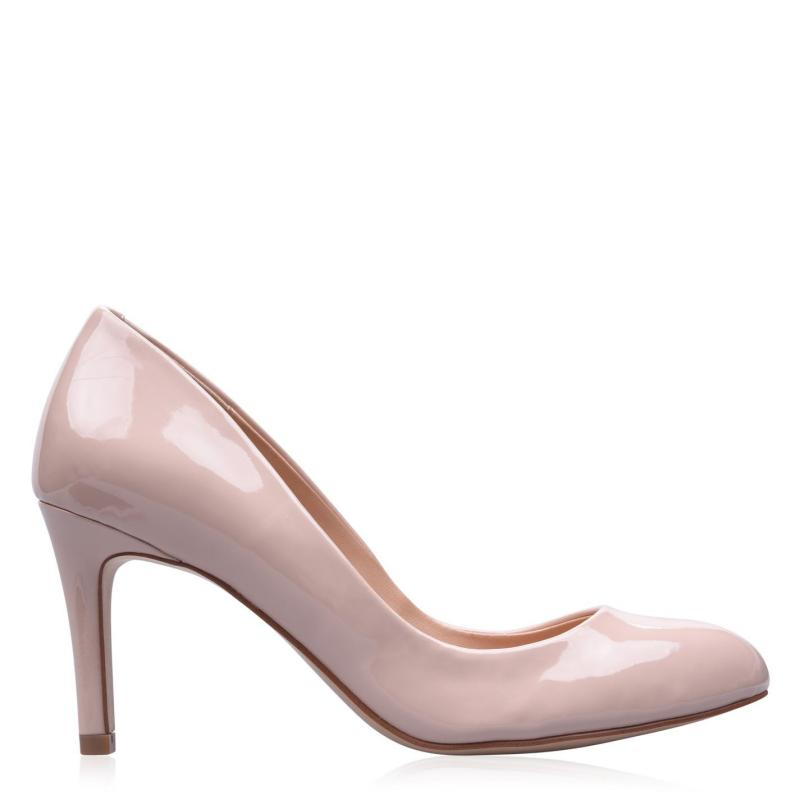 Obuv Linea Stiletto Almond Shoes Nude Patent