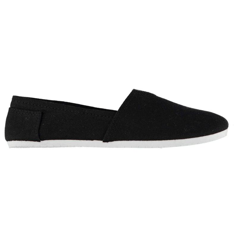 Obuv Miss Fiori Ladies Sams Canvas Shoes Denim
