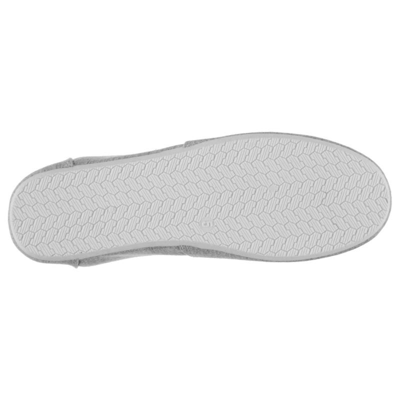 Obuv Miss Fiori Ladies Sams Canvas Shoes Grey Marl
