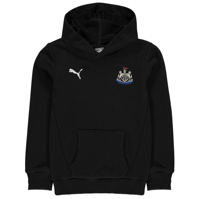 Puma Newcastle United OTH Hoody Junior Boys Black