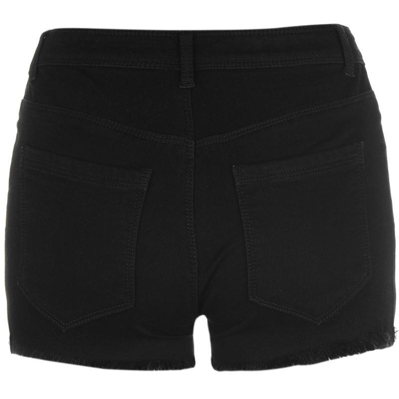 JDY Skylar Denim Shorts Black