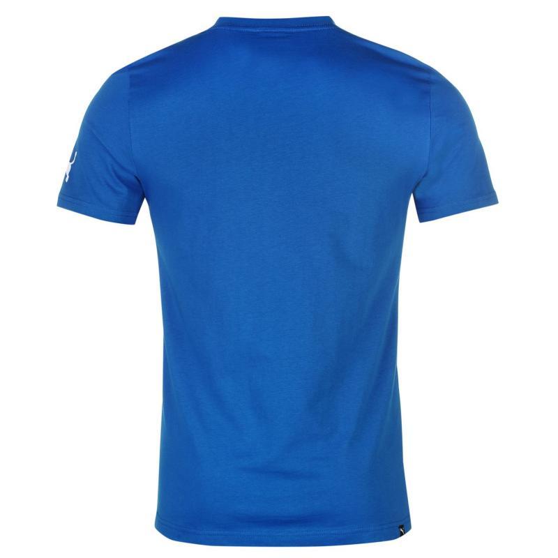 Puma Newcastle United Graphic T Shirt Mens Royal