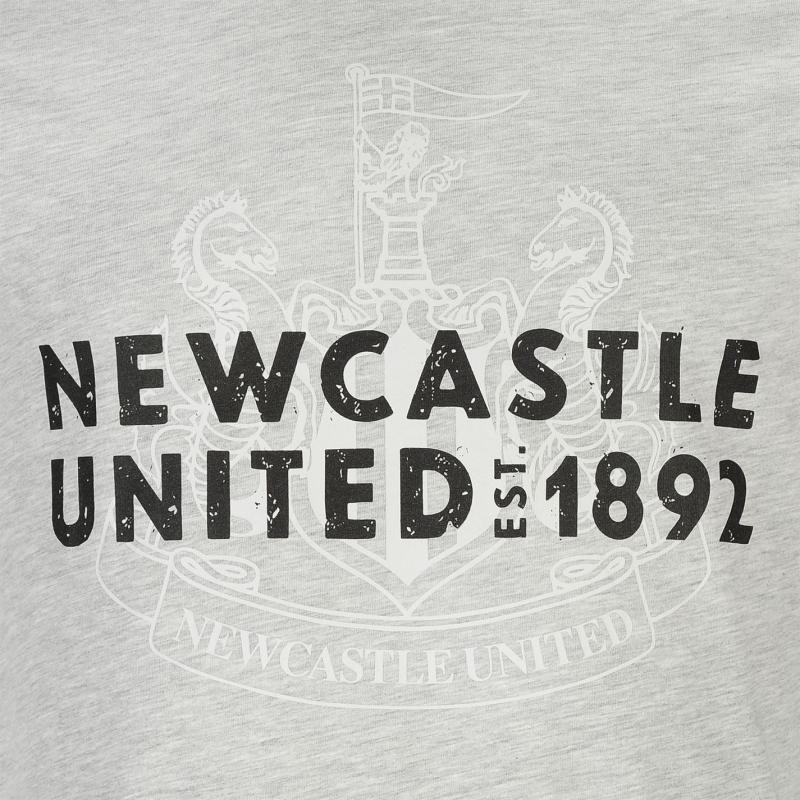 Tričko Puma Newcastle United Graphic T Shirt Mens Grey