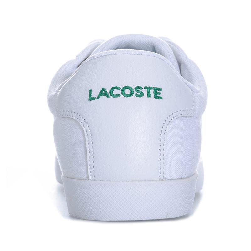 Lacoste Mens Grad Pique Trainers White