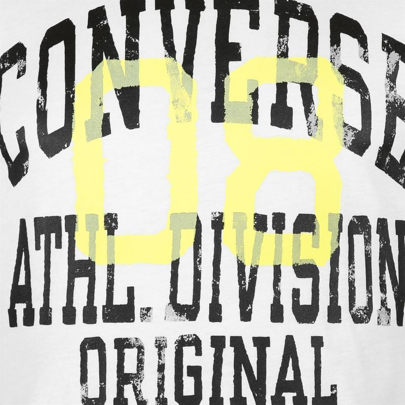 Tričko Converse Athletic T Shirt White