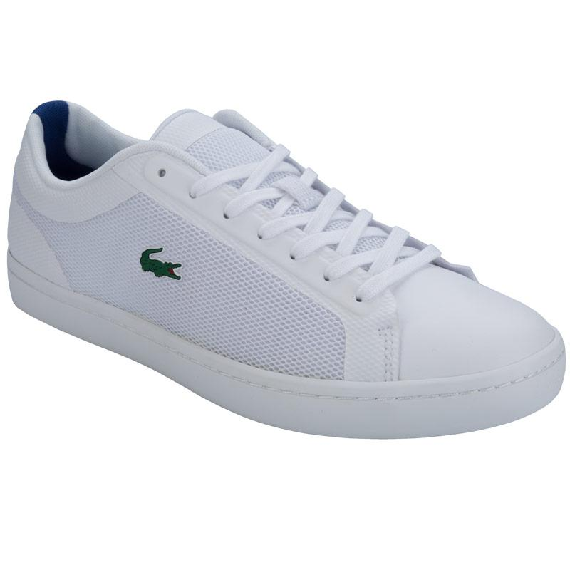 Lacoste Mens Straightset Trainers White