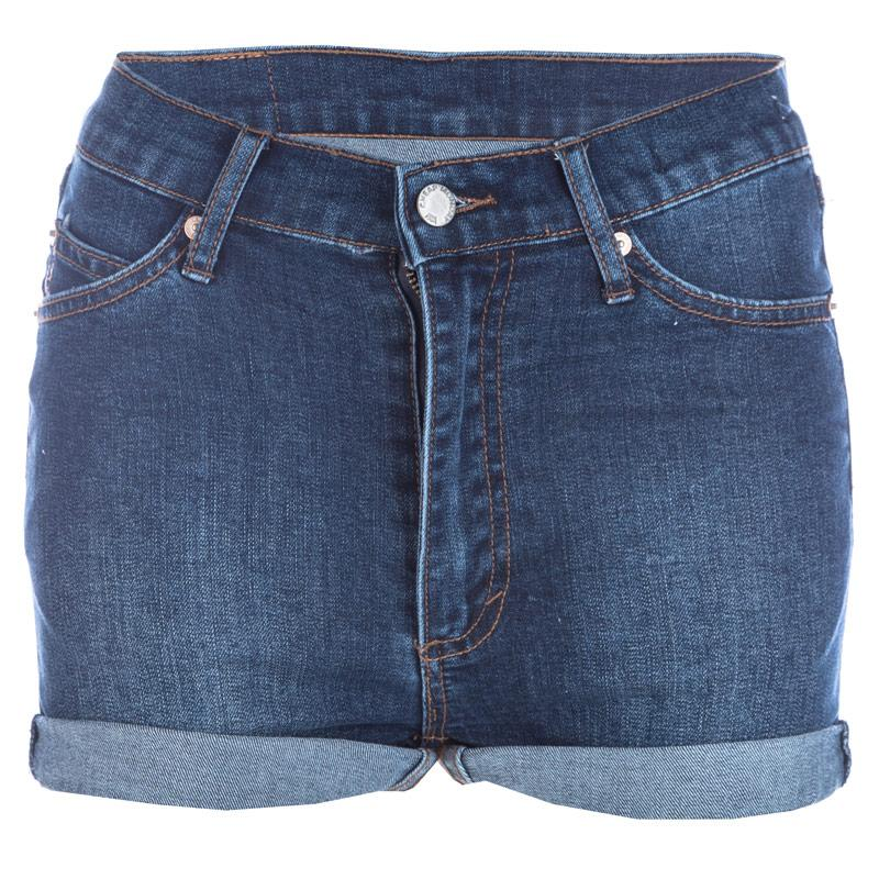 Cheap Monday Womens Denim Shorts Denim