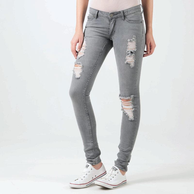 Cheap Monday Womens Slim Jeans Grey