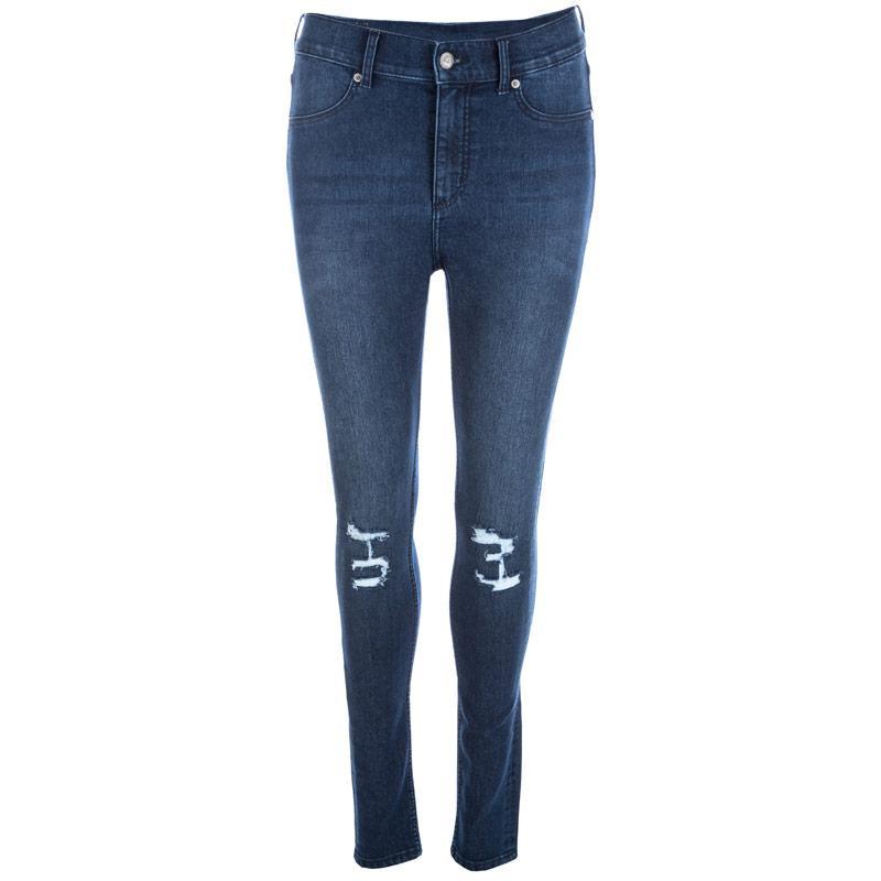 Cheap Monday Womens High Spray Jeans Denim