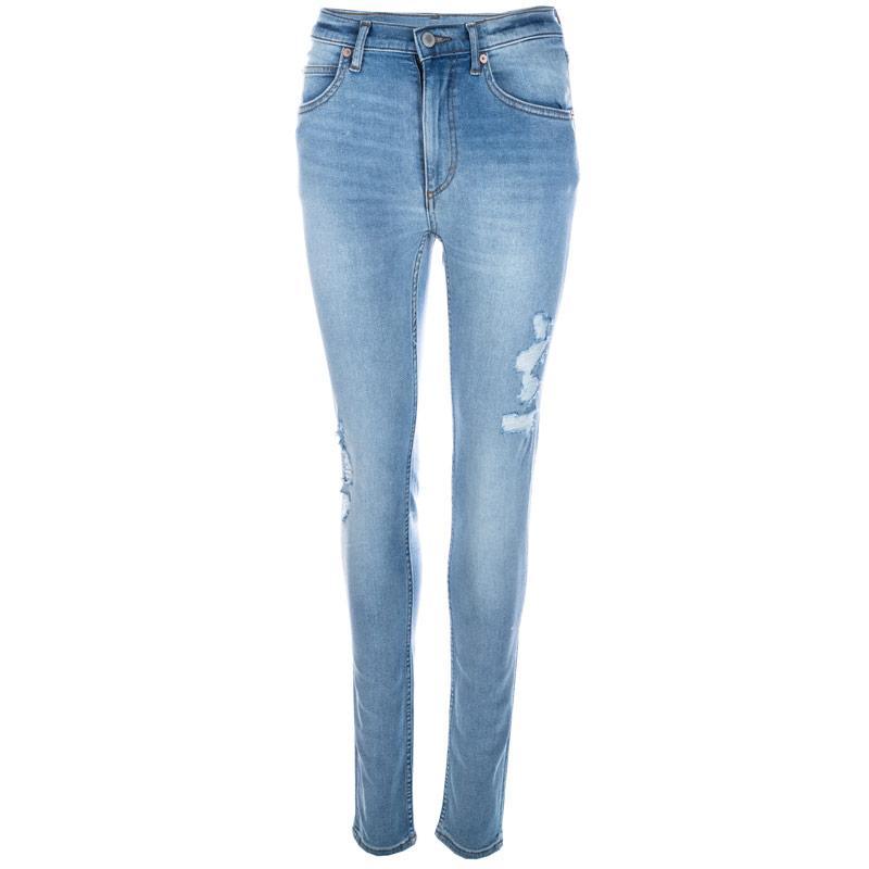 Cheap Monday Womens Second Skin Jeans Light Blue