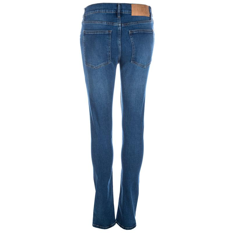Cheap Monday Womens Tight Jeans Dark Blue