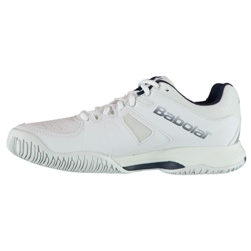 Babolat Pulsion All Court Mens Tennis Shoes White/Navy