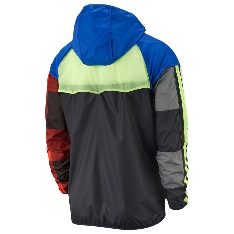 Nike Wild Run Windrunner Jacket Mens Royal/Volt