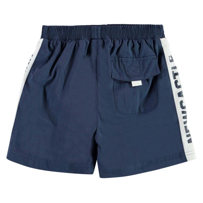 NUFC Newcastle United Swim Shorts Infant Boys Navy