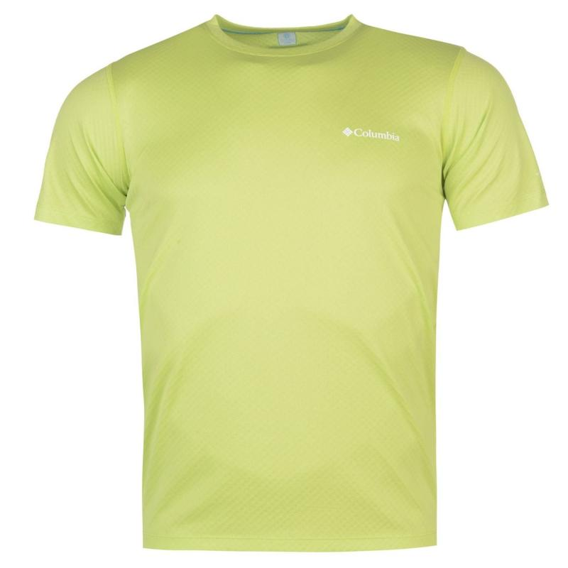 Tričko Columbia Zero T Shirt Mens Yellow
