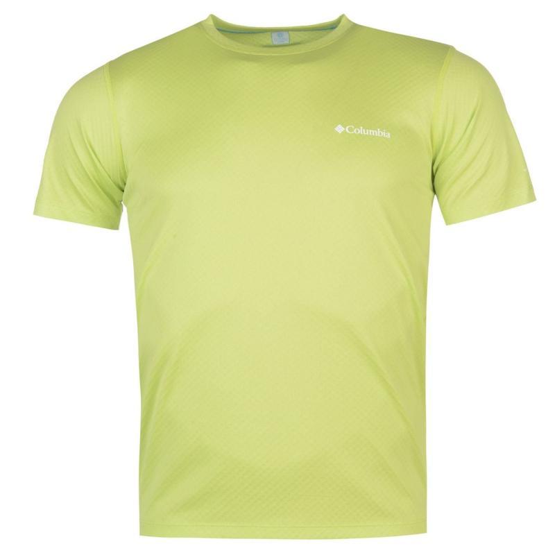 Tričko Columbia Zero T Shirt Mens Yellow