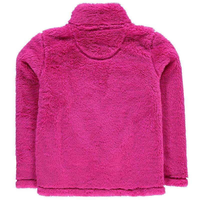 Gelert Yukon Micro Fleece Top Juniors Pink