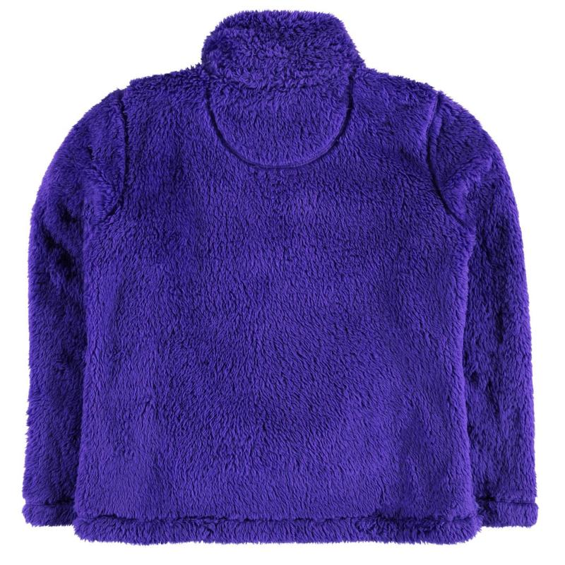 Gelert Yukon Micro Fleece Top Juniors Purple