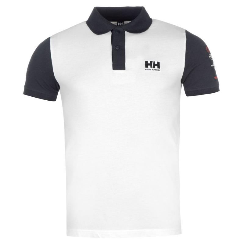 Helly Hansen Coordinate Polo Shirt Mens Red