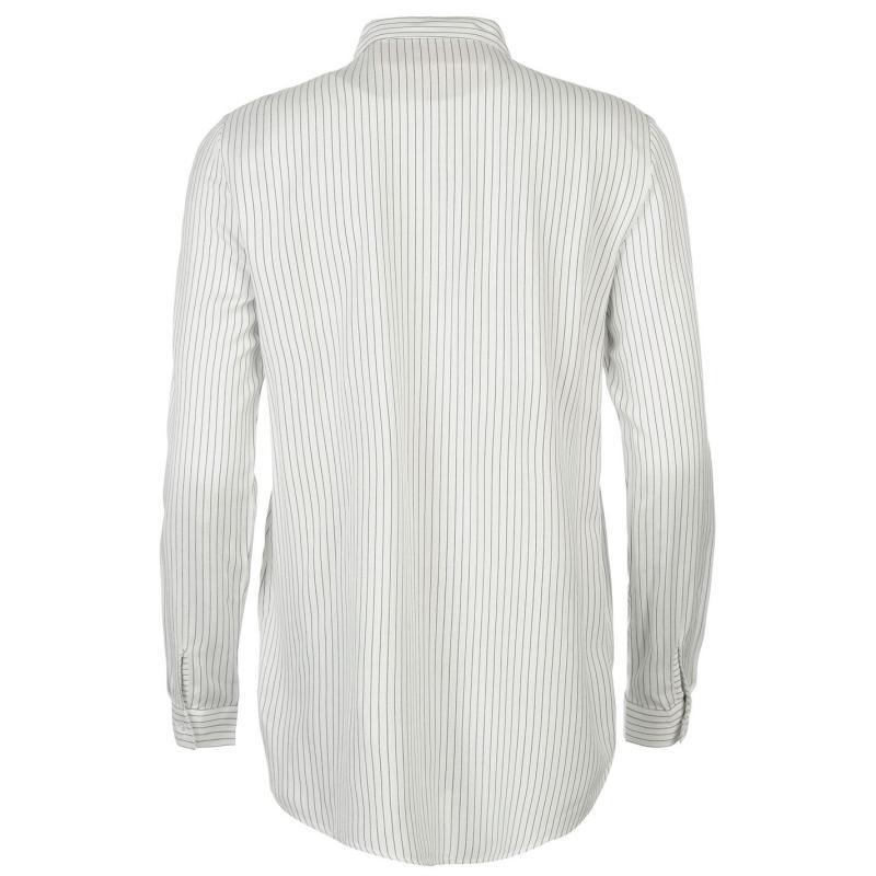 Košile JDY Jenny Long Sleeve Shirt Wht/Blk Stripe