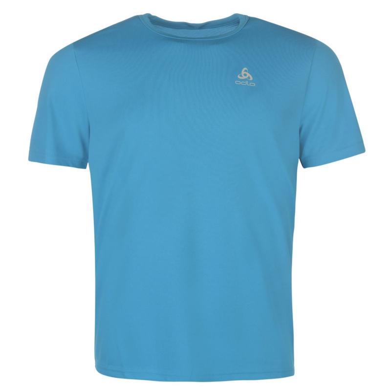 Odlo Carada Walking T Shirt Mens Blue Jewel