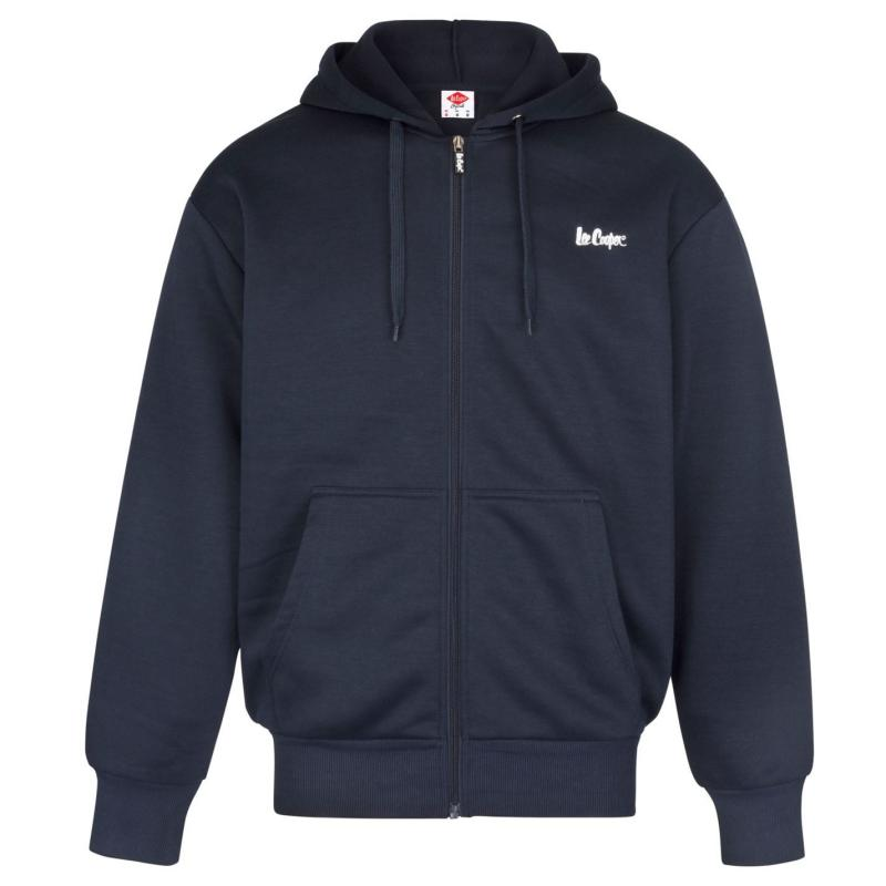 Mikina Lee Cooper Full Zip Hoody Mens Navy
