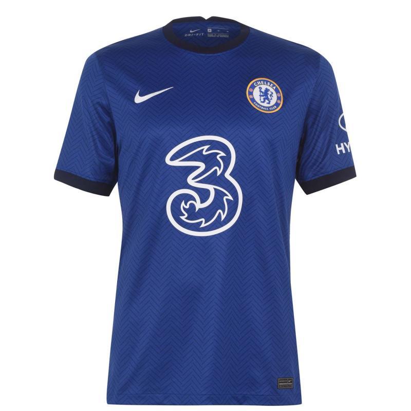 Nike Chelsea Callum Hudson Odoi Home Shirt 2020 2021 Blue