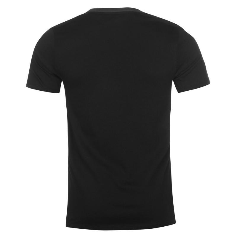 Tričko Nike Rag Swoosh T Shirt Mens Black/Grey