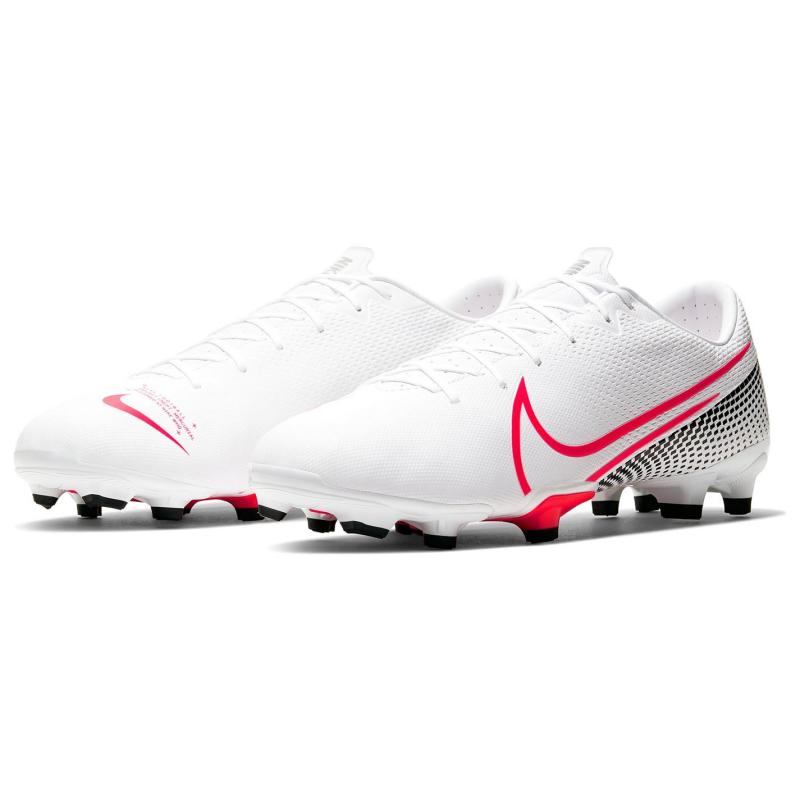 Nike Vapor 13 Academy Firm Ground Football Boots Mens White/Red/Black