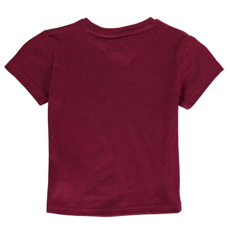 Tričko NUFC Lined T Shirt Infant Boys White