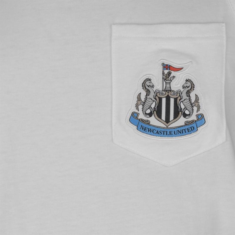 Tílko NUFC Newcastle United Muscle Vest Mens White