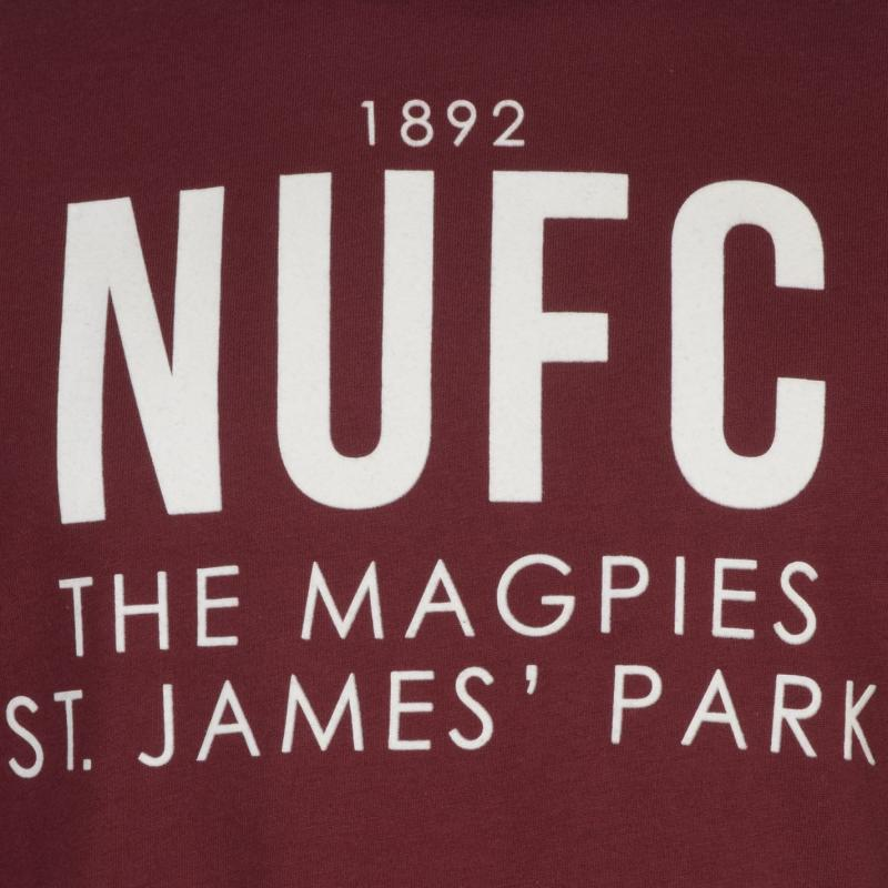 Tričko NUFC NUFC Magpie T Shirt Mens Black
