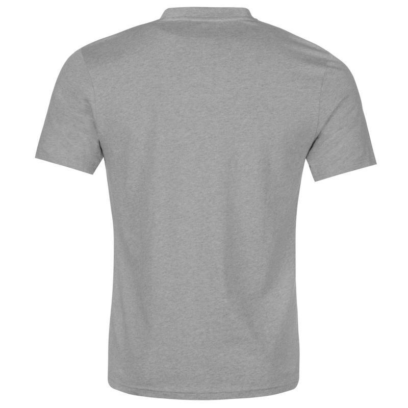 Tričko NUFC NUFC Magpie T Shirt Mens Grey