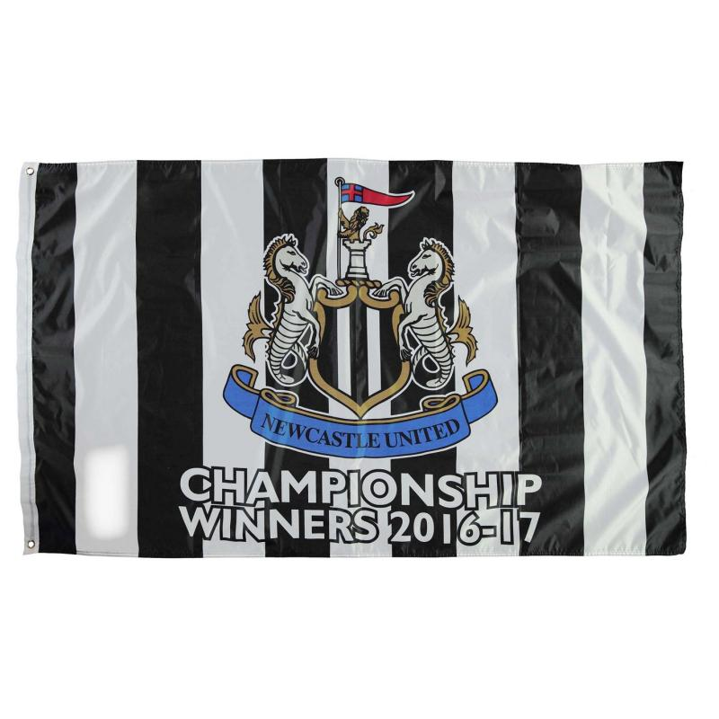Team NUFC Championship Flag Newcastle