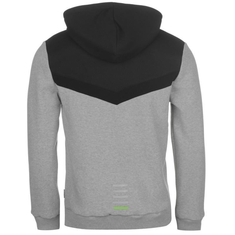 Mikina Everlast Premium Full Zip Hoody Mens Grey Marl 807f5dfd95