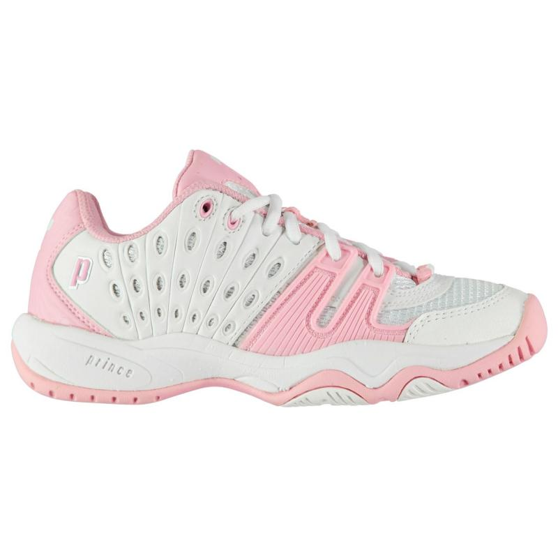 Boty Prince T22 Tennis Shoes Junior White/Pink